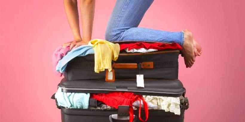 Otimize espaço na bagagem